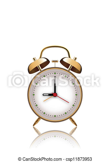 Reloj de alarma - csp11873953