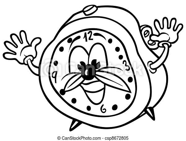 Reloj de alarma - csp8672805