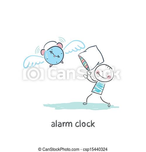 Reloj de alarma - csp15440324