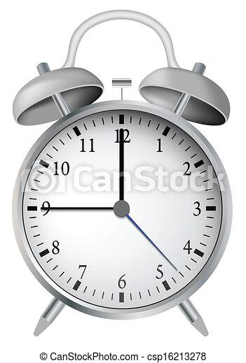 Reloj de alarma - csp16213278