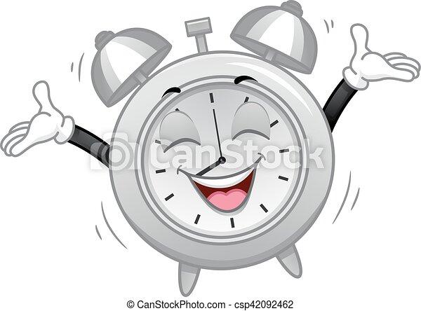 Alarma de Mascota, feliz mañana - csp42092462