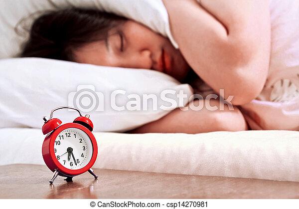 Reloj de alarma - csp14270981
