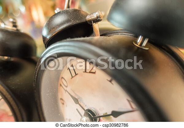 Reloj de alarma - csp30982786
