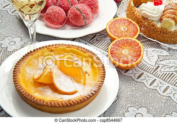 dessert buffet - csp8544667