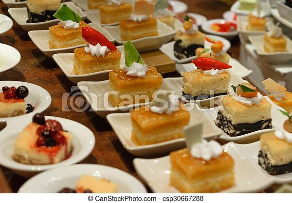 Dessert buffet - csp30667288