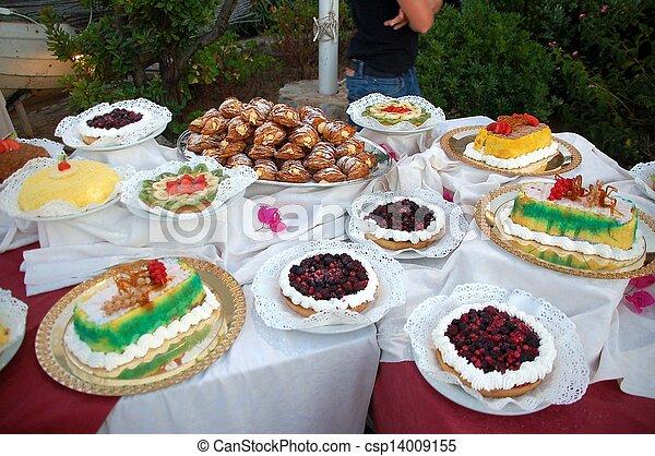 dessert buffet - csp14009155