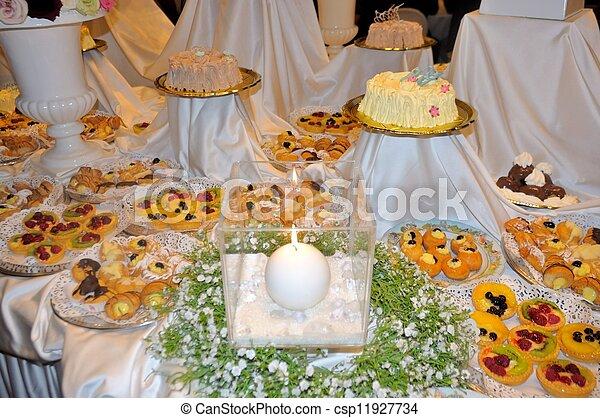 Dessert Buffet Wedding Reception