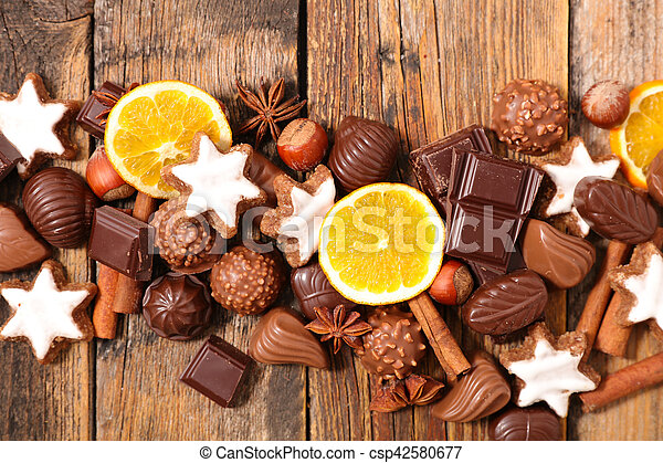 dessert for chrismtas - csp42580677