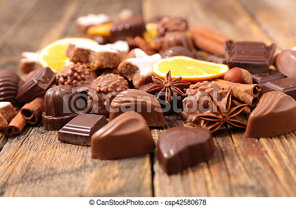 dessert for chrismtas - csp42580678