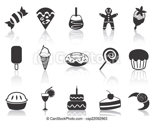 dessert icons set - csp22092963