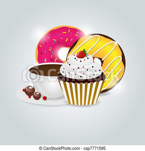 Dessert menu - csp7771595