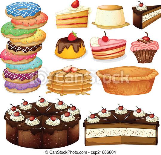 desserts - csp21686604