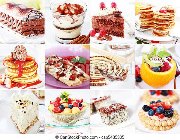 Desserts - csp5435305