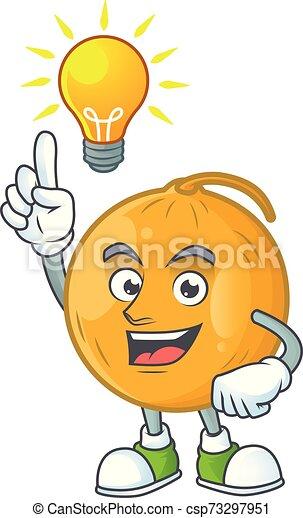 Dessin Anime Melon Idee Blanc Fruit Fond Casaba Avoir