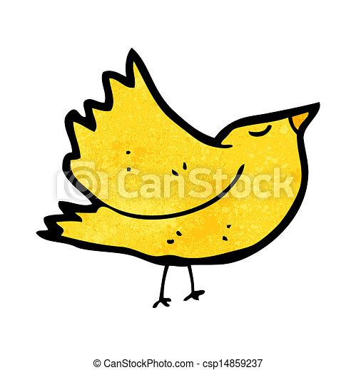 dessin animé, oiseau - csp14859237
