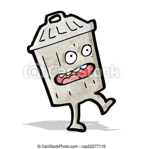 Dessin anim poubelle - Dessin de poubelle ...