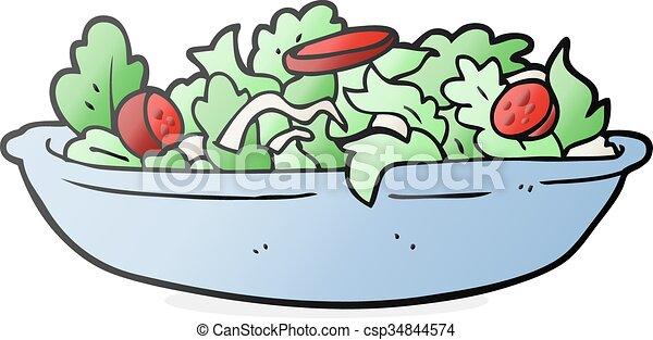 Dessin Animé Salade