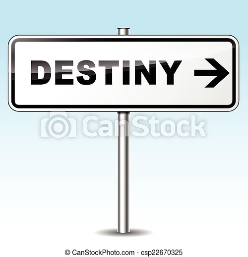 destiny sign - csp22670325