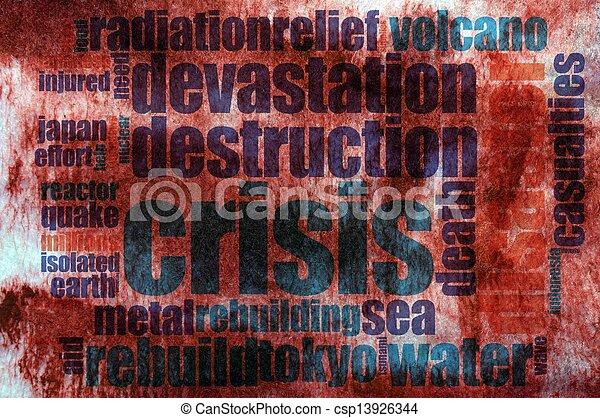 Destruction word cloud - csp13926344