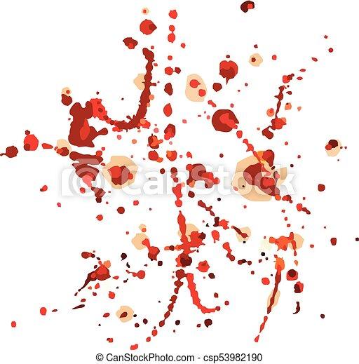 det stänker, blod, bakgrund. - csp53982190