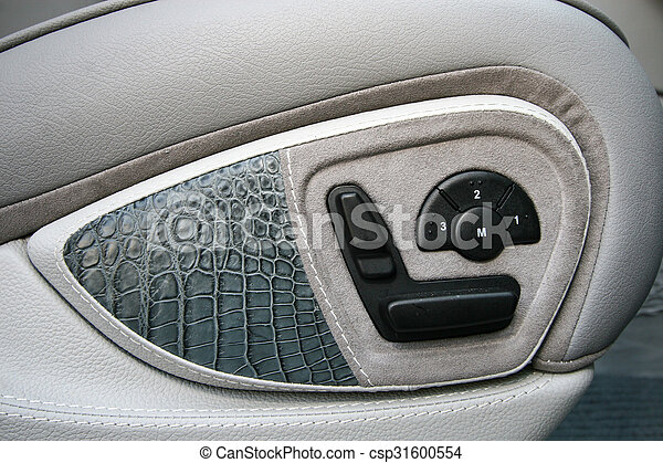 detail auto aanpassen zetel knopen position interieur