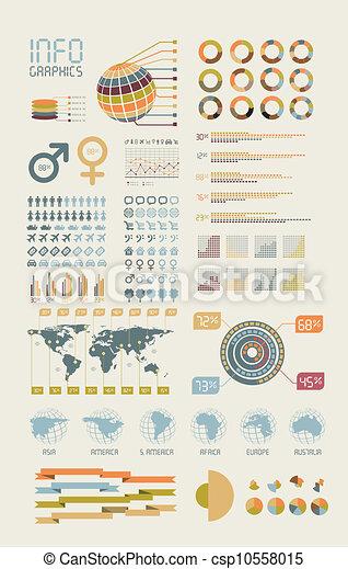 Detail infographic - csp10558015
