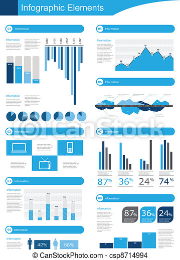 Detail infographic vector - csp8714994