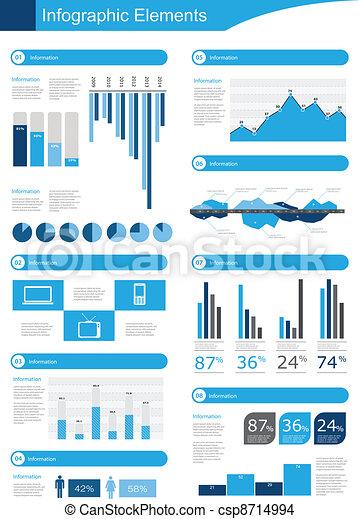 Detail infographic vector - csp8714994