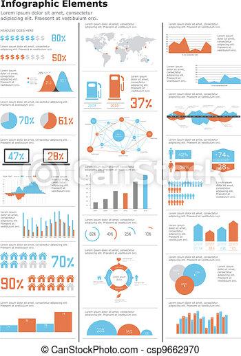 Detail infographics set.  - csp9662970