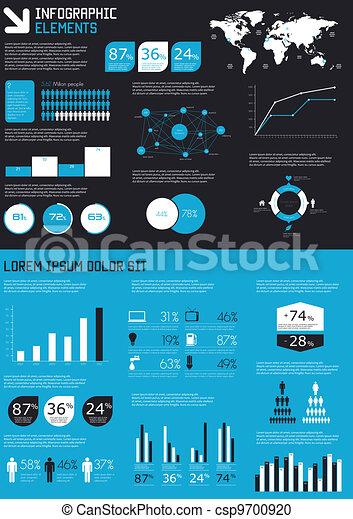 Detail infographics set.  - csp9700920