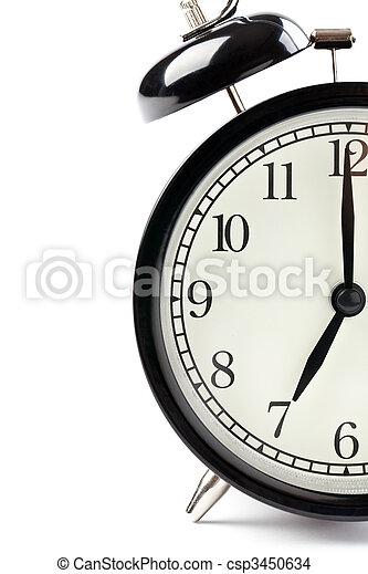 detail of alarm clock - csp3450634