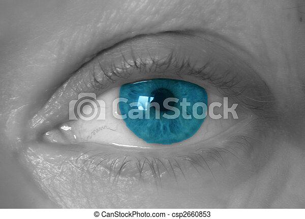 detail of an eye - csp2660853