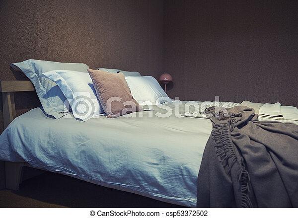 detail of bedroom - csp53372502
