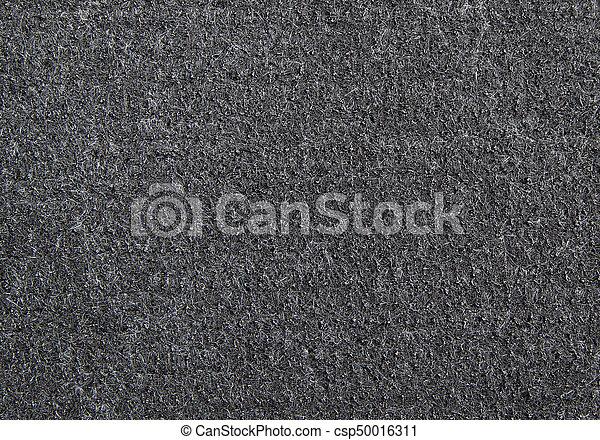 Elegant Detail Of Black Rubber Door Mat Texture For Background   Csp50016311