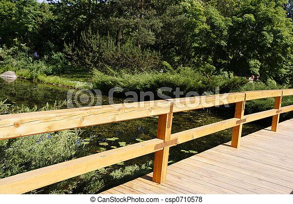 Detail of bridge - csp0710578