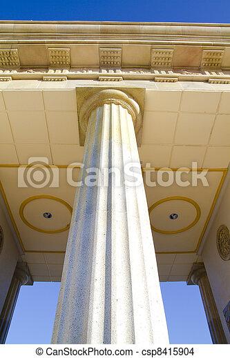 Detail of classical columns - csp8415904