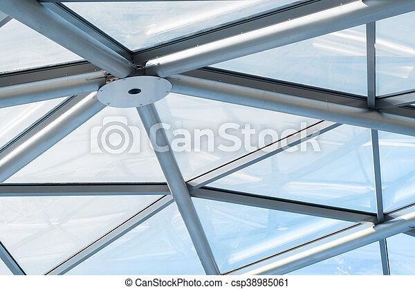 Detail of modern building - csp38985061