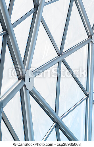 Detail of modern building - csp38985063