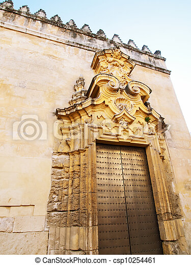 detail of Mosque-Cathedral, Cordoba, Andalusia, Spain - csp10254461