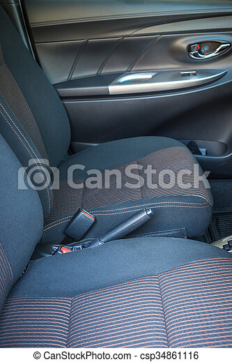 detail of new modern car interior focus on seatbelt stock photography search pictures and. Black Bedroom Furniture Sets. Home Design Ideas