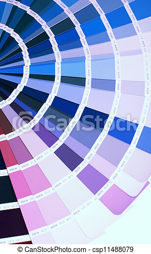 Detail Of Ral Color Chart Open Ral Pantone Sample Colors Catalogue
