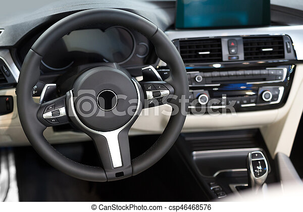 Detail of the car interior - csp46468576