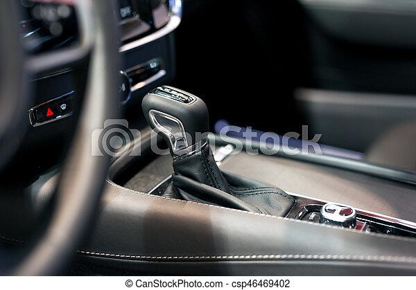 Detail of the car interior - csp46469402