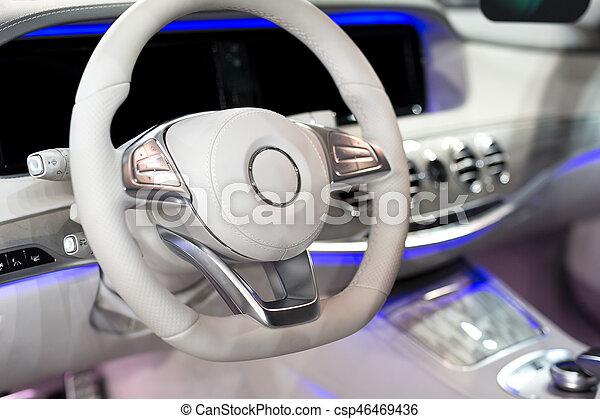Detail of the car interior - csp46469436