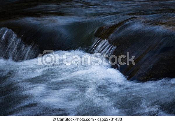 detail of the dark river - csp63731430