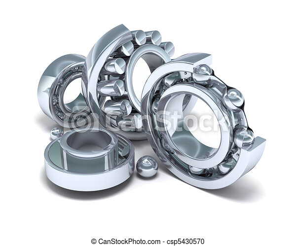 Detailed bearings production - csp5430570