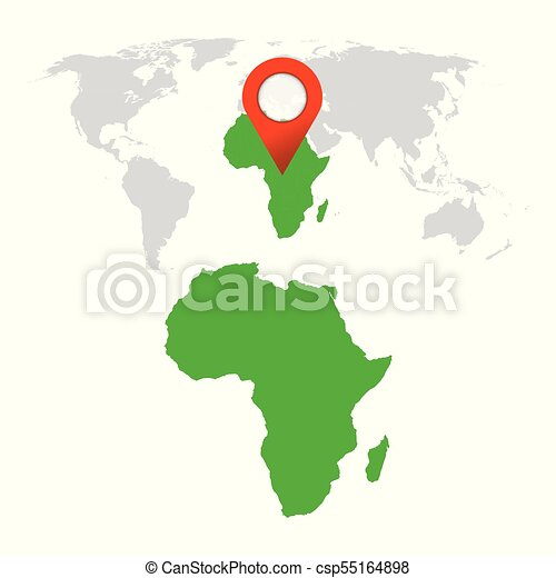 Detailed map of africa and world map navigation set flat eps detailed map of africa and world map navigation set flat vector illustration gumiabroncs Gallery
