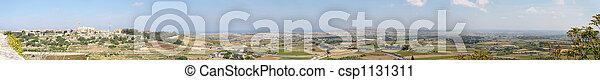 Detailed Panorama of Malt - csp1131311