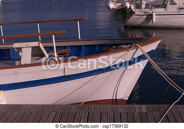details of a boat - csp17369132