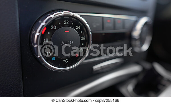 Details of car climate control - csp37255166